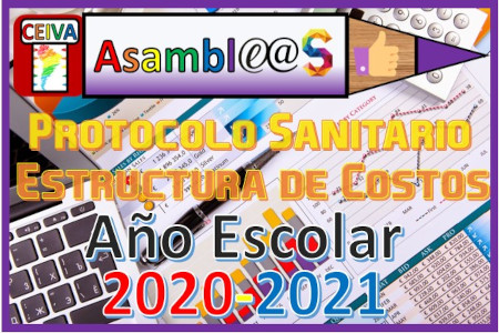 Año Escolar 2020-2021. Asamblea Escolar.