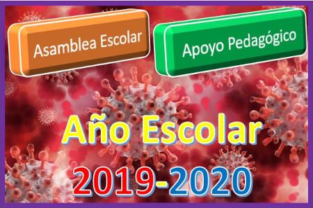Año Escolar 2019-2020. Asamblea Escolar. COVID19.